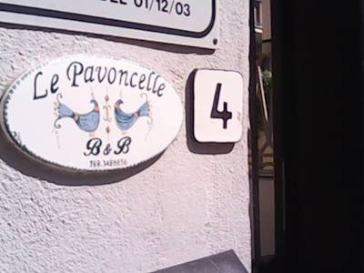 Bed and Breakfast Le pavoncelle img2