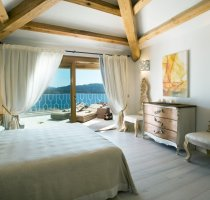 Luxury Suite mit Meerblick